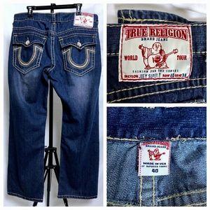 True Religion Joey Super T Bootcut Jeans 39x29